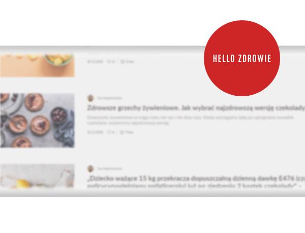 Piszemy dla hellozdrowie.pl obrazek