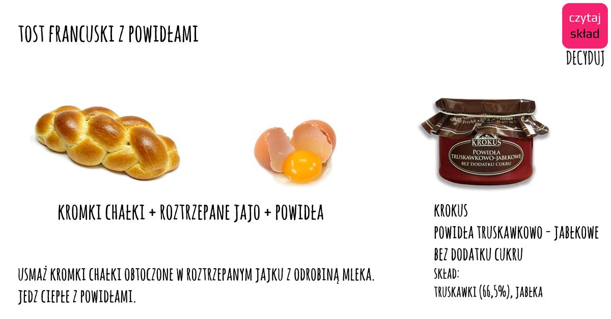 tost + powidła krokus pop