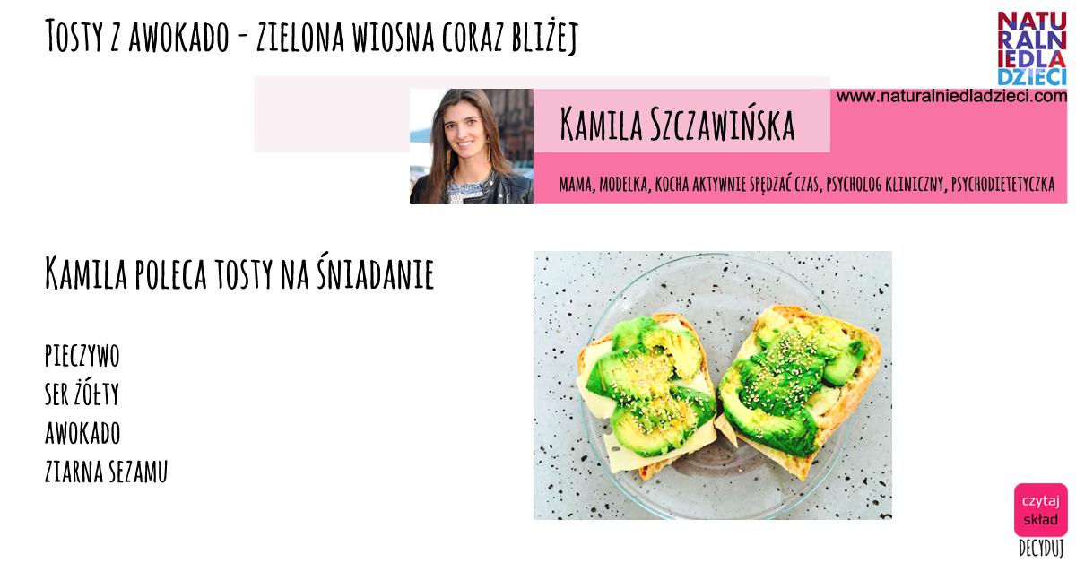 tosty- Kamila Szczawińska