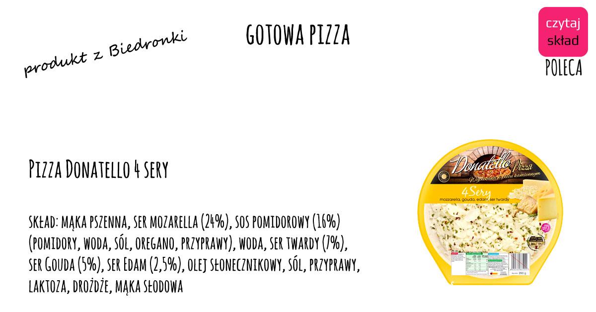 gotowa pizza z Biedronki