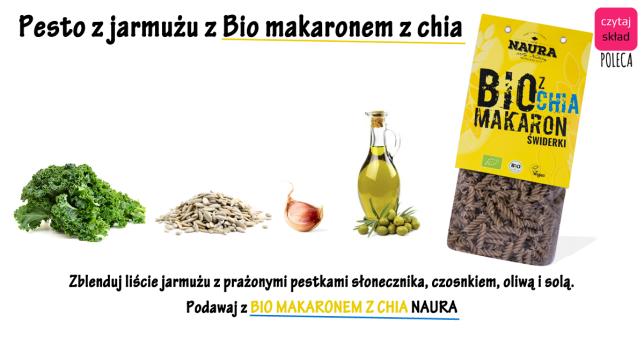 MAKARON Z CHIA - PRZEPIS