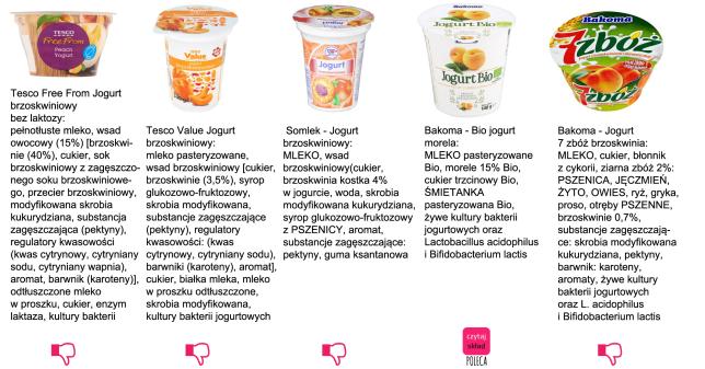 jogurt brzoskwiniowy 1