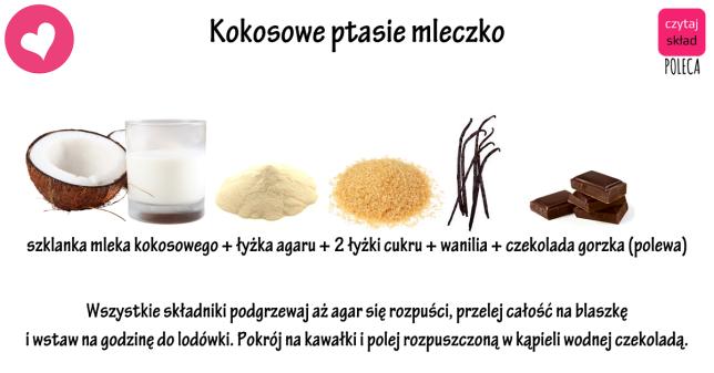 kokosowe ptasie mleczko