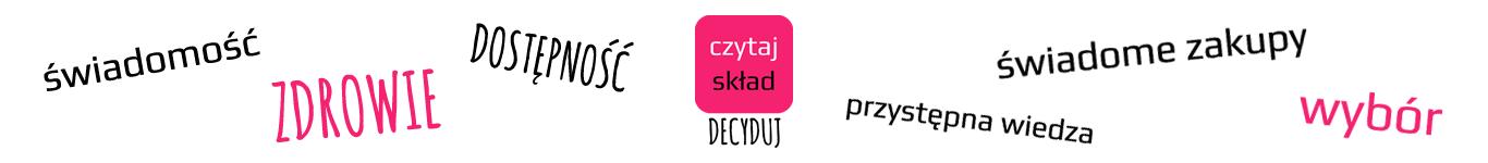 CzytajSklad.com - porównanie produktów