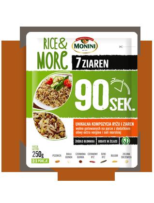 Rice&More, 7 ziaren