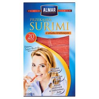 Almar Premium Przekąska surimi o smaku krabowym