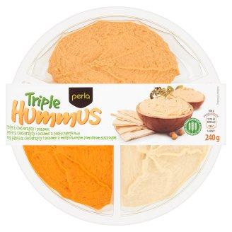 Perla Triple Hummus