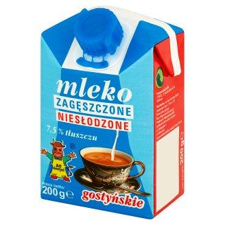 SM Gostyń Mleko gostyńskie zagęszczone niesłodzone 7,5%