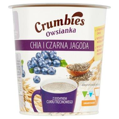 Crumbies Owsianka chia i czarna jagoda