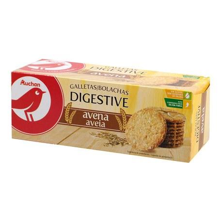 Auchan - Ciastka owsiane - pszenne
