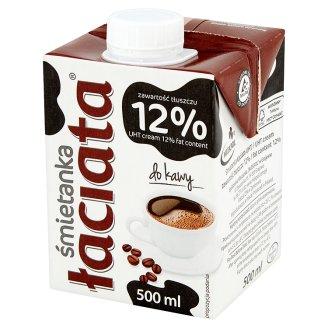Łaciata Śmietanka do kawy 12%