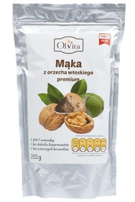 Mąka z orzecha włoskiego 250g - Olvita