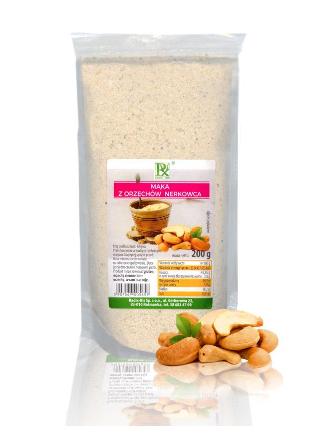 Mąka z orzechów nerkowca