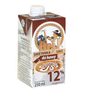 Radomsko Hej! Śmietanka Do Kawy 12% Uht
