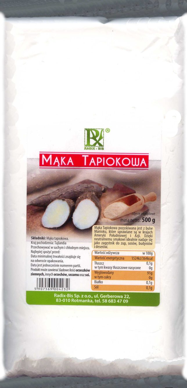 Mąka tapiokowa