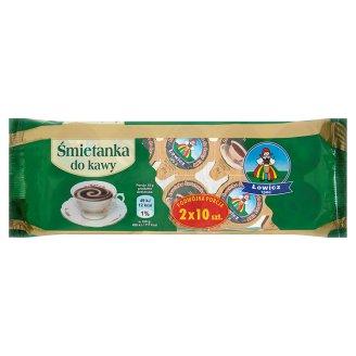 Łowicz Śmietanka do kawy UHT 10%