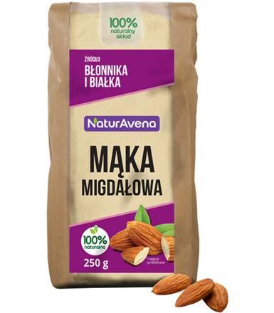 NATURAVENA 250g Mąka Migdałowa Bio