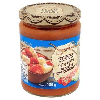 Tesco Gołąbki w sosie pomidorowym