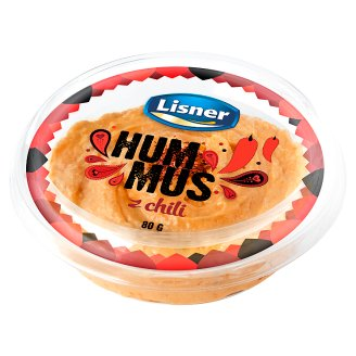 Lisner Hummus z chili