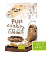 ANIA Fun Cookies Ciasteczka owsiane BIOANIA Fun Cookies Ciasteczka owsiane BIO
