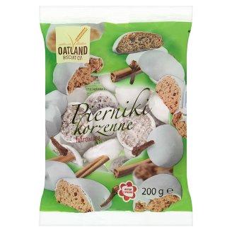 Oatland Biscuit Co. Pierniki korzenne lukrowane