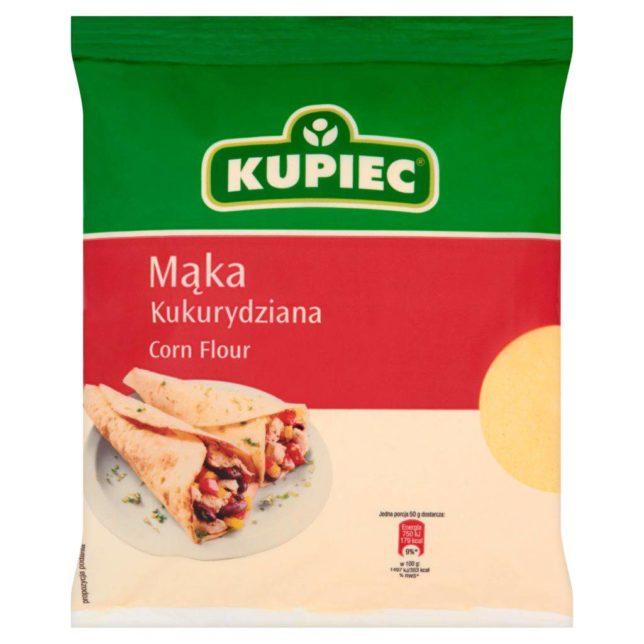 Kupiec Mąka kukurydziana