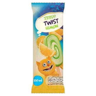 Tesco Twist Lemon Lody o smaku śmietankowym i lody wodne o smaku cytrynowym