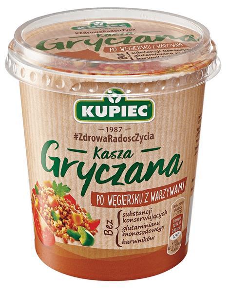 Kupiec, Kasza gryczana po węgiersku z warzywami