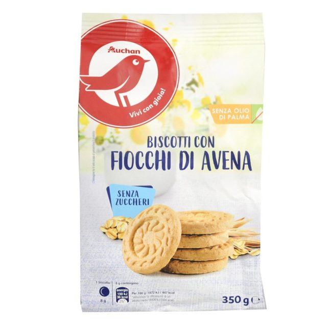 Auchan - Ciasteczka owsiane