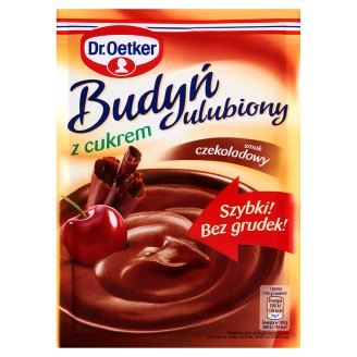 Dr. Oetker Budyń ulubiony z cukrem smak czekoladowy