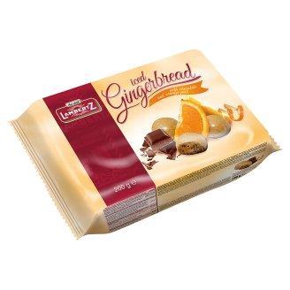 Lambertz Pierniki lukrowane z czekoladą i skórką pomarańcz