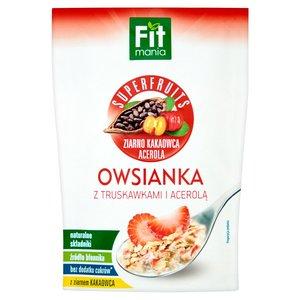 Fitmania Superfruits Owsianka Z Truskawkami I Acerolą