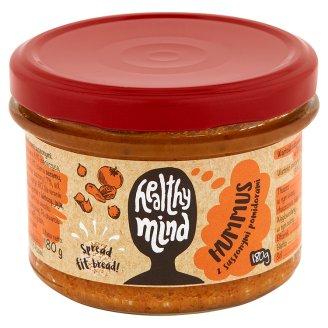 Healthy Mind Hummus z pomidorami suszonymi