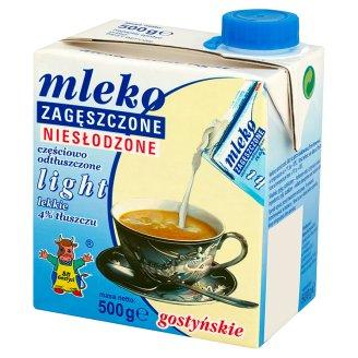 SM Gostyń Mleko gostyńskie zagęszczone niesłodzone light 4%
