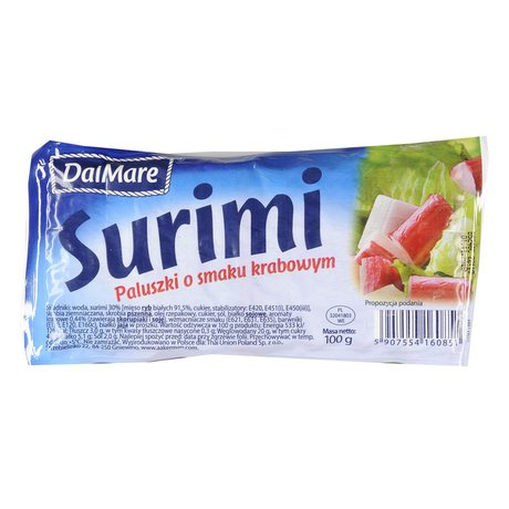 DalMare - Surimi paluszki o smaku krabowym