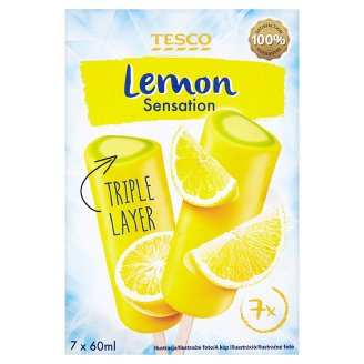 Tesco Lemon Sensation Lody wodne