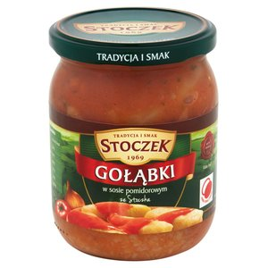 Stoczek Gołąbki W Sosie Pomidorowym Z Pietruszką