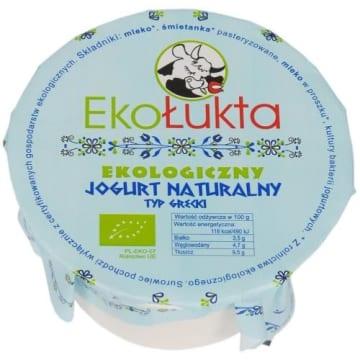 EKOŁUKTA Jogurt naturalny typ grecki BIO