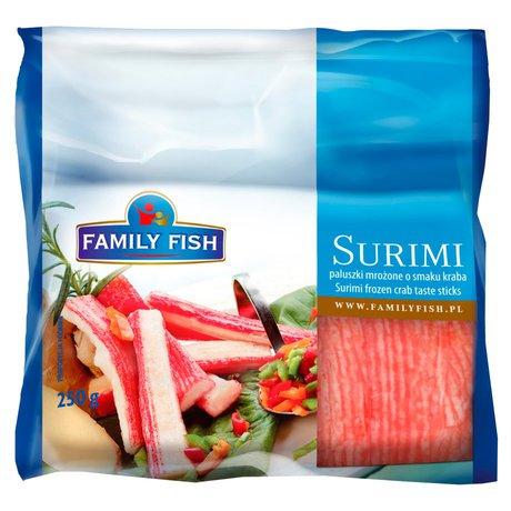 Family Fish - Paluszki surimi o smaku krabowym