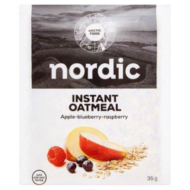 Nordic Owsianka błyskawiczna z jabłkami jagodami i malinami
