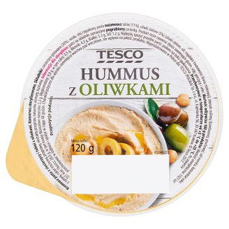 Tesco Hummus z oliwkami