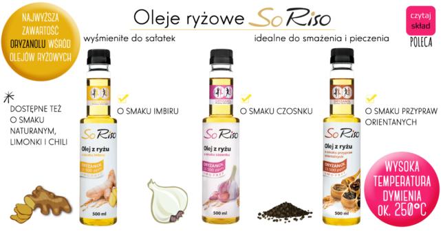 SoRiso olej z oryzanolem