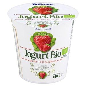 Bakoma Jogurt Bio Z Truskawkami