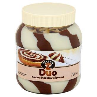 Oak Lane Duo Krem do smarowania o smaku kakaowo-waniliowym z orzechami laskowymi