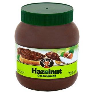 Oak Lane Krem do smarowania o smaku kakaowym z orzechami laskowymi