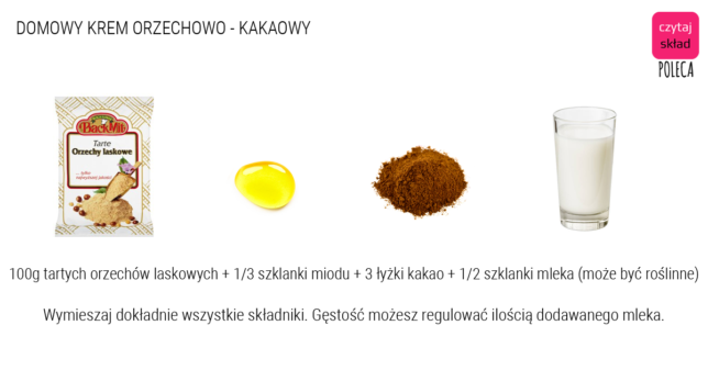 KREM ORZECHOWO KAKAOWY