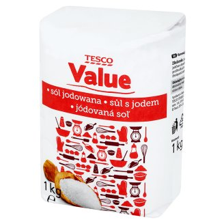 Tesco Value Sól jodowana