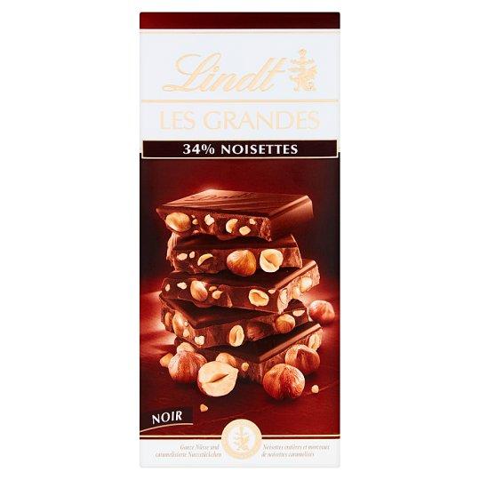 Lindt Les Grandes Szwajcarska czekolada deserowa z orzechami laskowymi