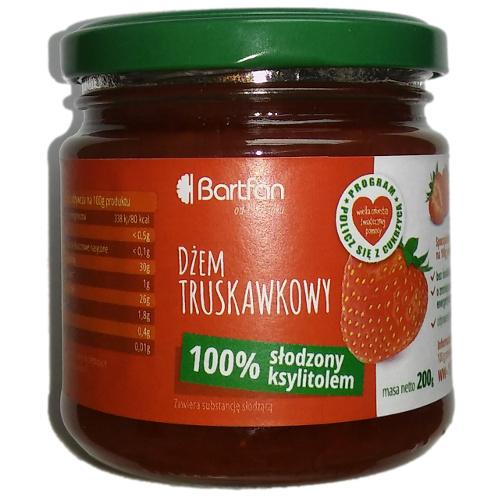 Dżem truskawkowy z ksylitolem