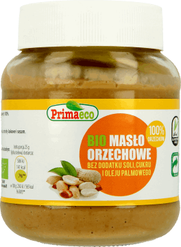 Primaeco, Masło orzechowe z prażonych orzechów arachidowych 100%